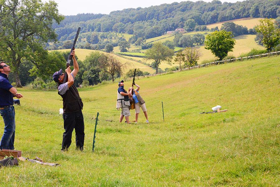 Clay Shooting School Gloucestershire